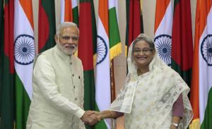Narendra Modi, Sheikh Hasina